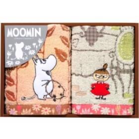 【ギフト】ムーミン ムーミン谷の日々 フェイスタオル&ウォッシュタオル MM-9116