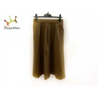 ミラオーウェン Mila Owen スカート サイズ1 S レディース 美品 ブラウン スペシャル特価 20190803