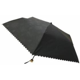 【ギフト】フローレンス・カンパニー 晴雨兼用ヒートカットミニ傘(UVカット)(ブラック) OBA-0031A