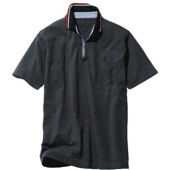 45%OFF【メンズ】 ベストセラー! ドライ・スキッパー風デザインポロシャツ ■カラー:ブラック系 ■サイズ:S