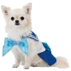 ペティオ 美少女戦士セーラームーン なりきりウェア ワンちゃん用服 セーラーマーキュリー XS 全年齢 超小型犬~小型犬 チワワ・ヨークシ