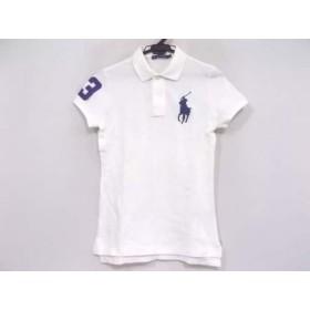 【中古】 ラルフローレン RalphLauren 半袖ポロシャツ サイズM メンズ ビッグポニー 白