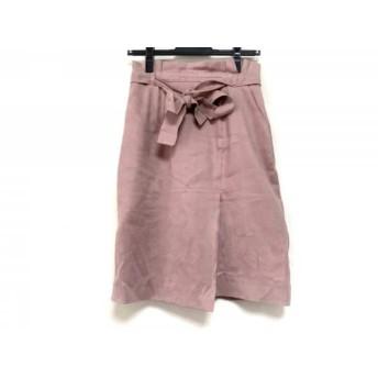 【中古】 アプワイザーリッシェ Apuweiser-riche スカート サイズ1 S レディース ピンク