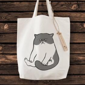 エキゾチックショートヘア トートバッグ 猫