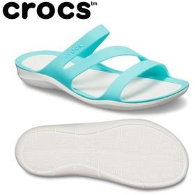 クロックス サンダル レディース Women's Swiftwater Sandal スウィフトウォーター サンダル ウィメン 203998-4DY crocs od