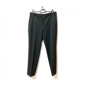 【中古】 ニジュウサンク 23区 パンツ サイズ40 M レディース 黒