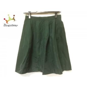 トゥモローランド TOMORROWLAND スカート サイズ36 S レディース 美品 グリーン スペシャル特価 20190730