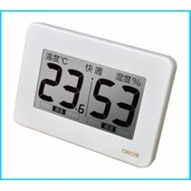 CRECER クレセル 超大画面デジタル温湿度計 CR-3000W