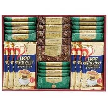訳あり 賞味期限6月30日以降 コーヒー お菓子 ギフト セット 詰め合わせ UCC ドリップコーヒー・ゴーフレット・パイ詰合せ 食品 US-30 (16)