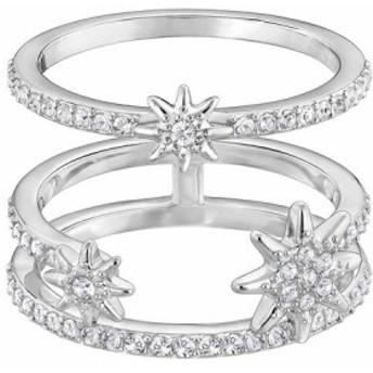 スワロフスキー Swarovski 『Fizzy リングセット』 指輪 5257486