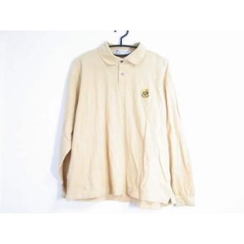 【中古】 バーバリーズ Burberry's 長袖ポロシャツ サイズM メンズ イエロー