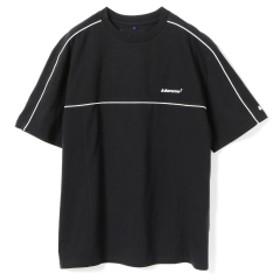 ADER ERROR / ライン ミニ ロゴ Tシャツ● レディース Tシャツ BLACK ONE SIZE