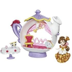 b8a21f98c8d69 リトルキングダム ディズニープリンセス ベルのティーポット おもちゃ こども 子供 女の子 4歳 美女と野獣