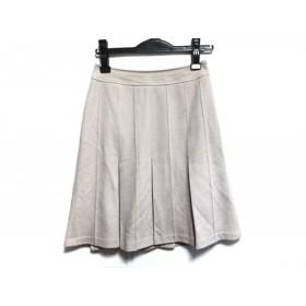【中古】 ニジュウサンク 23区 スカート サイズ32 XS レディース ベージュ