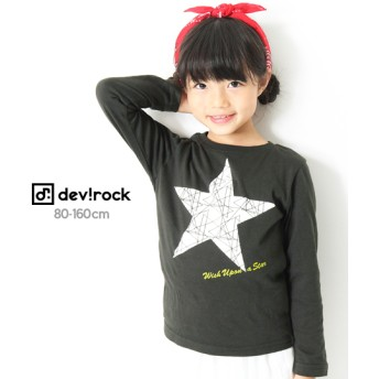 devirock デビロック 全20柄プリント長袖Tシャツ キッズ