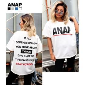 ANAP(アナップ)ANAPロゴミニ裏毛プリントTシャツ