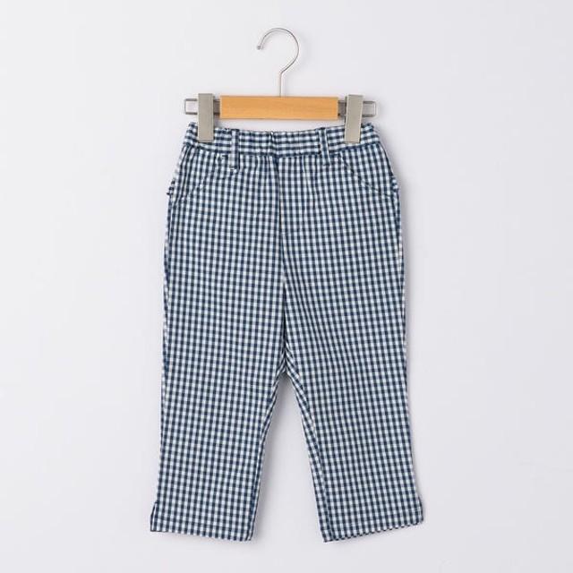 [マルイ]【セール】SHIPS KIDS:ギンガム サブリナ パンツ(100-130cm)/シップス キッズ(SHIPS KIDS)