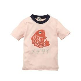 和柄プリント半袖Tシャツ(男の子。女の子 子供服) Tシャツ・カットソー