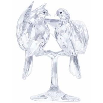 スワロフスキー Swarovski 置物 フィギュア 鳥 キジバト 5249297