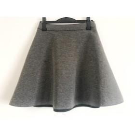 【中古】 プラージュ Plage スカート サイズ38 M レディース グレー