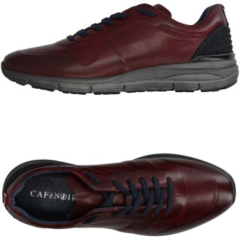 《期間限定セール開催中!》CAFNOIR メンズ スニーカー&テニスシューズ(ローカット) ボルドー 39 革 / 紡績繊維