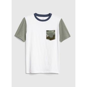 Gap カモフラージュポケット半袖Tシャツ(キッズ)