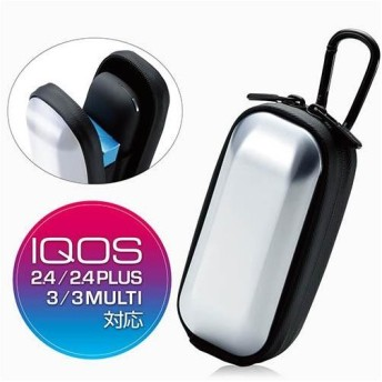 エレコム ET-IQW3HCSV(シルバー) IQOS 3 MULTI用ハードケース