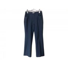 【中古】 ビースリー B3 B-THREE パンツ サイズ38 M レディース ダークネイビー