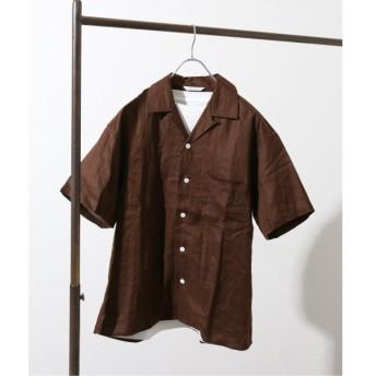 [マルイ]【セール】メンズシャツ(【french linen】ドビーオープンカラーシャツ)/ジャーナルスタンダード(メンズ)(JOURNAL STANDARD MEN'S)