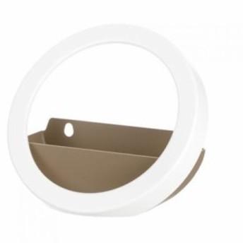 リッチェル デコレア ラウンドフレーム ホワイト (15.5×7×15.5cm)