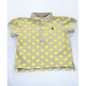 ブルーアズール BLUEU AZUR ポロシャツ 半袖 110cm グレー系 ドット トップス キッズ 女の子 通販 買い取り