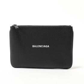 BALENCIAGA バレンシアガ 551992 DLQ4N EVERYDAY POUCH M ポーチ ミニクラッチバッグ 1000/NOIR ブラック ユニセックス