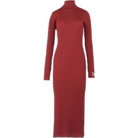 《期間限定 セール開催中》GALLE Paris レディース ロングワンピース&ドレス ガーネット 0 50% ウール 50% アクリル
