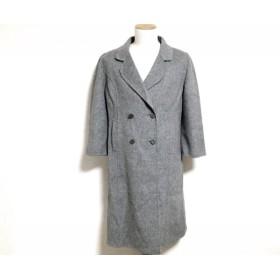 【中古】 レリアン Leilian コート サイズ15 L レディース グレー 冬物