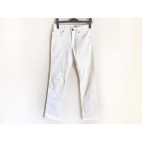 【中古】 ニジュウサンク 23区 パンツ サイズ32 XS レディース 白