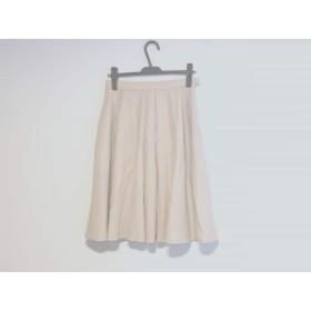 【中古】 トゥモローランド TOMORROWLAND スカート サイズ34 S レディース ベージュ