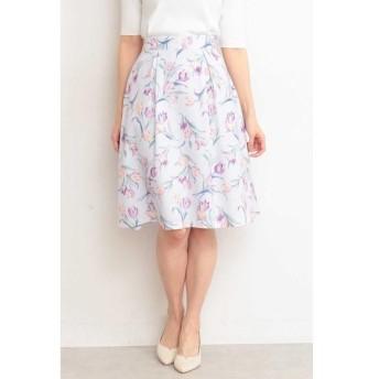 PROPORTION BODY DRESSING / プロポーションボディドレッシング  ガーデンチューリップフレアースカート