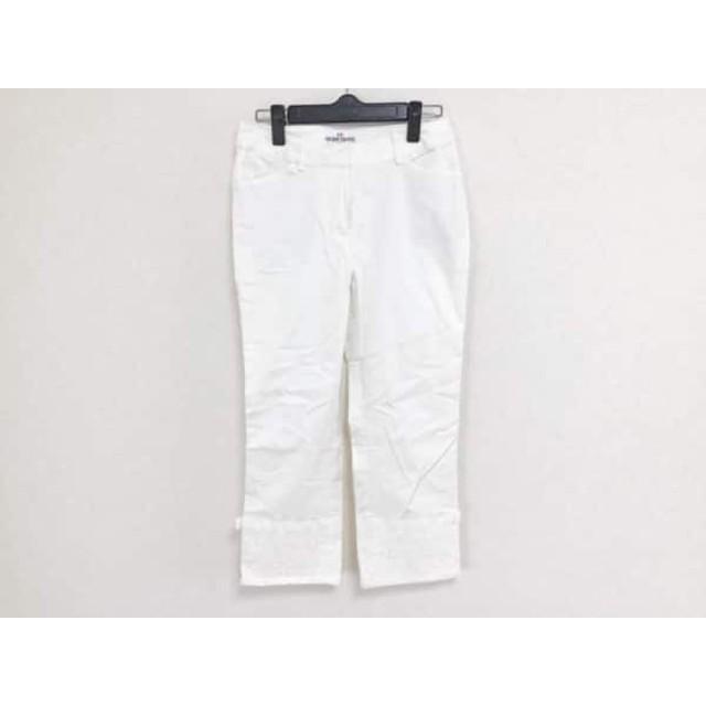 【中古】 ギャラリービスコンティ GALLERYVISCONTI パンツ サイズ2 M レディース 白