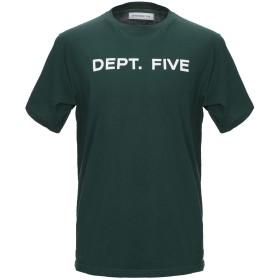 《期間限定セール開催中!》DEPARTMENT 5 メンズ T シャツ ダークグリーン XS コットン 100%