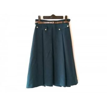 【中古】 ロイスクレヨン Lois CRAYON スカート サイズM レディース グリーン