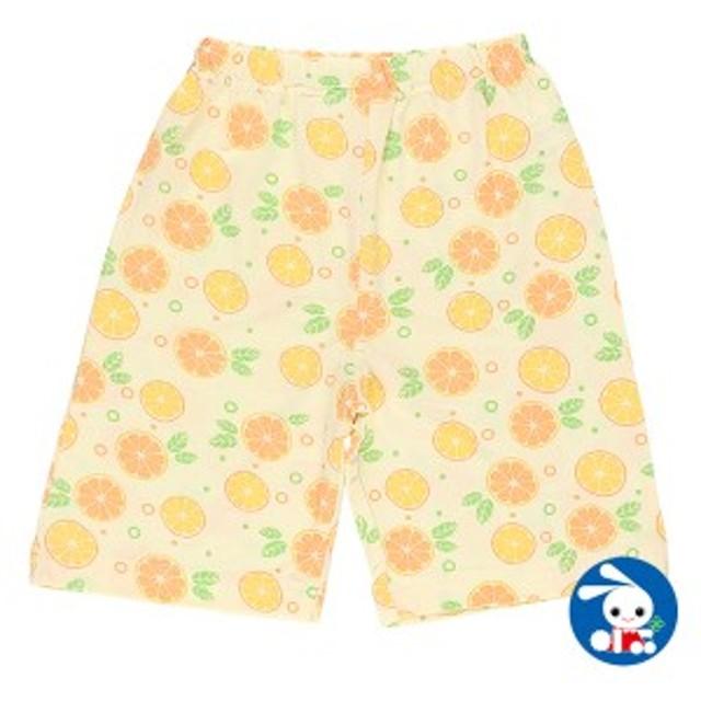 クルパン(フルーツ柄)【80cm・90cm・95cm】[女の子 ステテコ すててこ 半ズボン ハーフパンツ 部屋着 ルームパンツ パジャマ キッズ 子