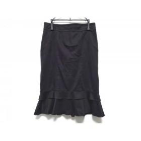 【中古】 マテリア MATERIA スカート サイズ38 M レディース 黒
