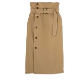 ローズバッド ROSE BUD ハイウエストタイトスカート ベージュ S【税込10,800円以上購入で送料無料】