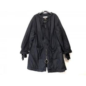 【中古】 マルニ MARNI ダウンコート サイズ40 M レディース 黒 冬物