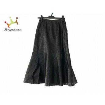 レリアン Leilian ロングスカート サイズ9 M レディース 美品 黒 スペシャル特価 20190804
