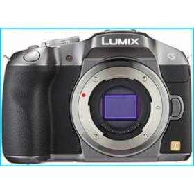 Panasonic ミラーレス一眼カメラ ルミックス G6 ボディ 1605万画素 シルバー DMC-G6-S