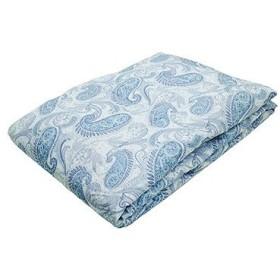 西川株式会社 ホワイトダックダウン50%使用 ウォッシャブル羽毛肌掛けふとん ブルー KE08005500/B
