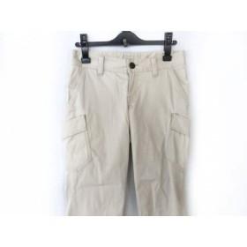 【中古】 バーバリーロンドン Burberry LONDON パンツ サイズ38 L レディース ライトグレー