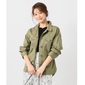 any FAM エニィファム ミリタリーシャツ ジャケット JKFXKM0490