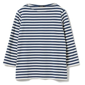 <UNISEX>marimekko / Ilma 7分袖 ボーダーカットソー メンズ Tシャツ NAVY M